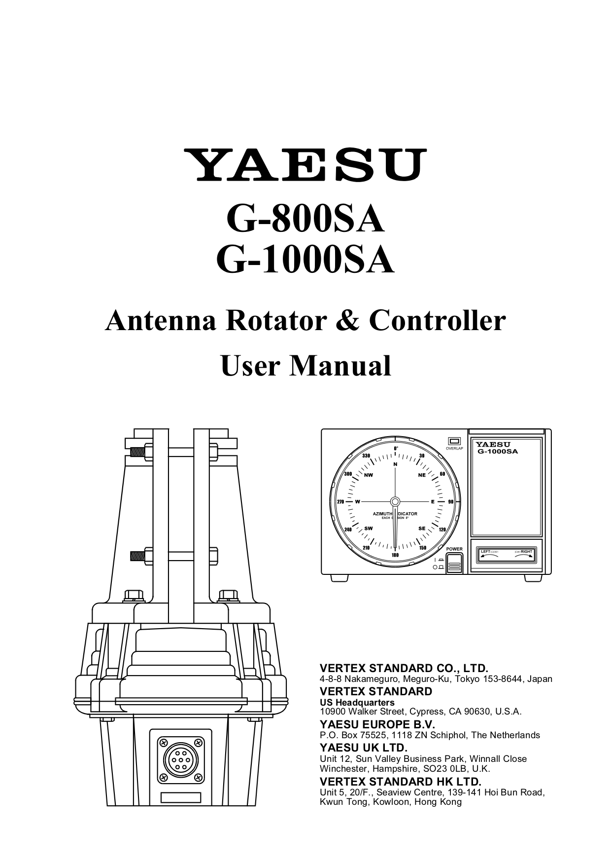 Download Free For Yaesu G 800dxa Rotator Other Manual