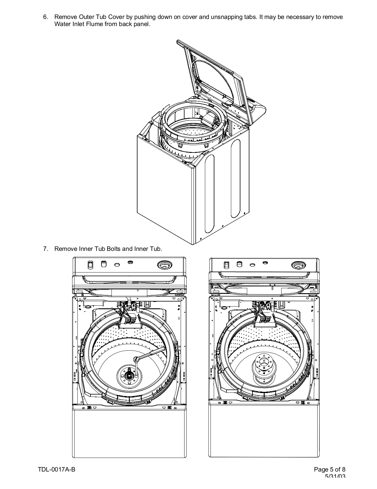 PDF manual for Maytag Washer Atlantis MAV6451AWW