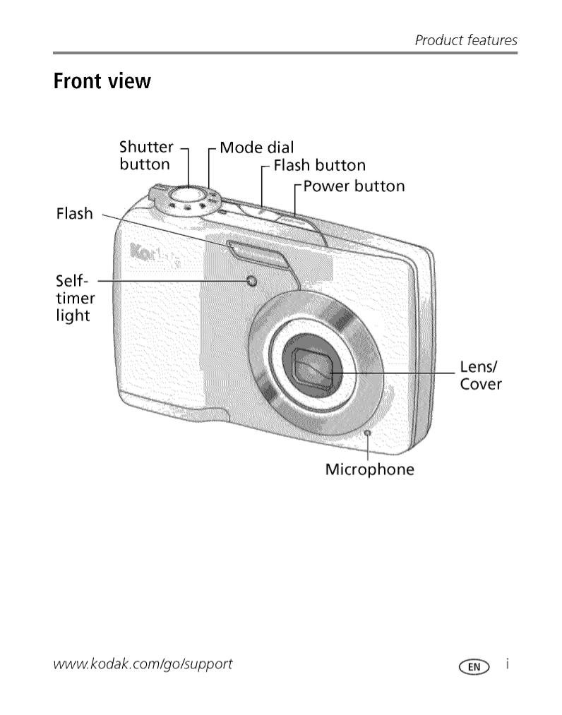 PDF manual for Kodak Digital Camera EasyShare C182