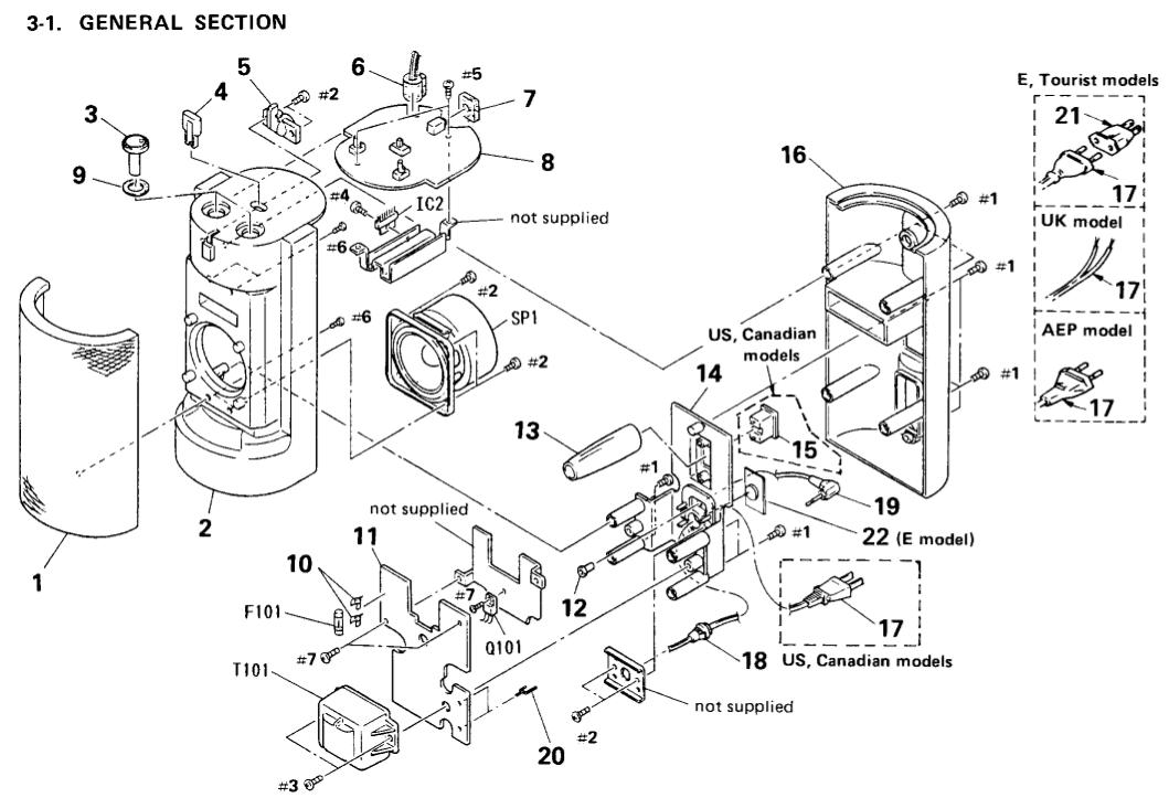PDF manual for Sony Speaker SRS-88PC