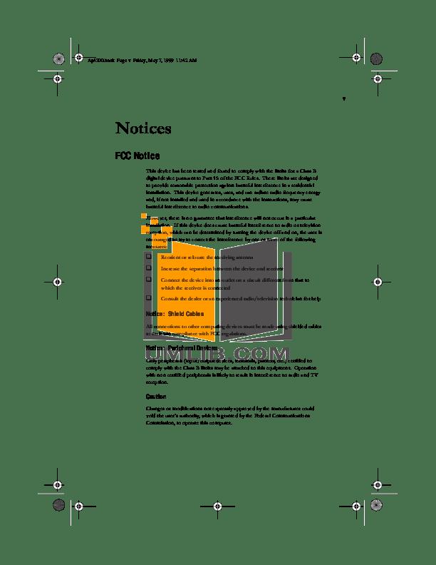 PDF manual for Acer Desktop AcerPower 2000