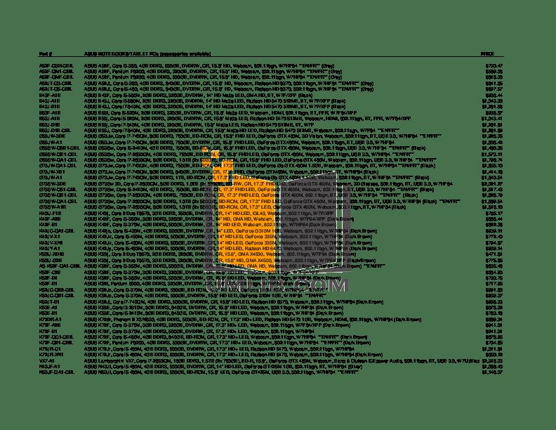 Download free pdf for Asus NX90JQ-B2 Laptop manual