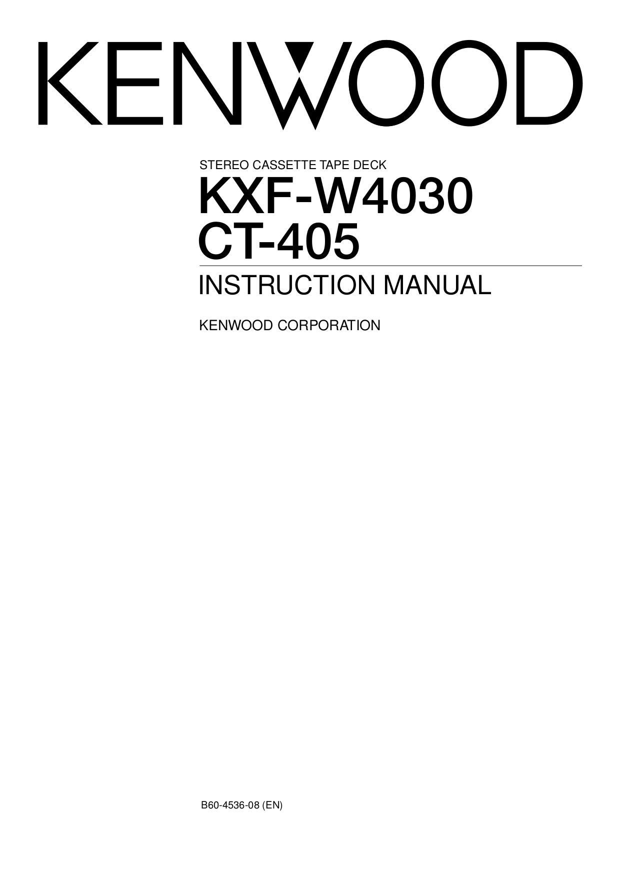 Download Free For Kenwood Ct 201 Tape Deck Manual