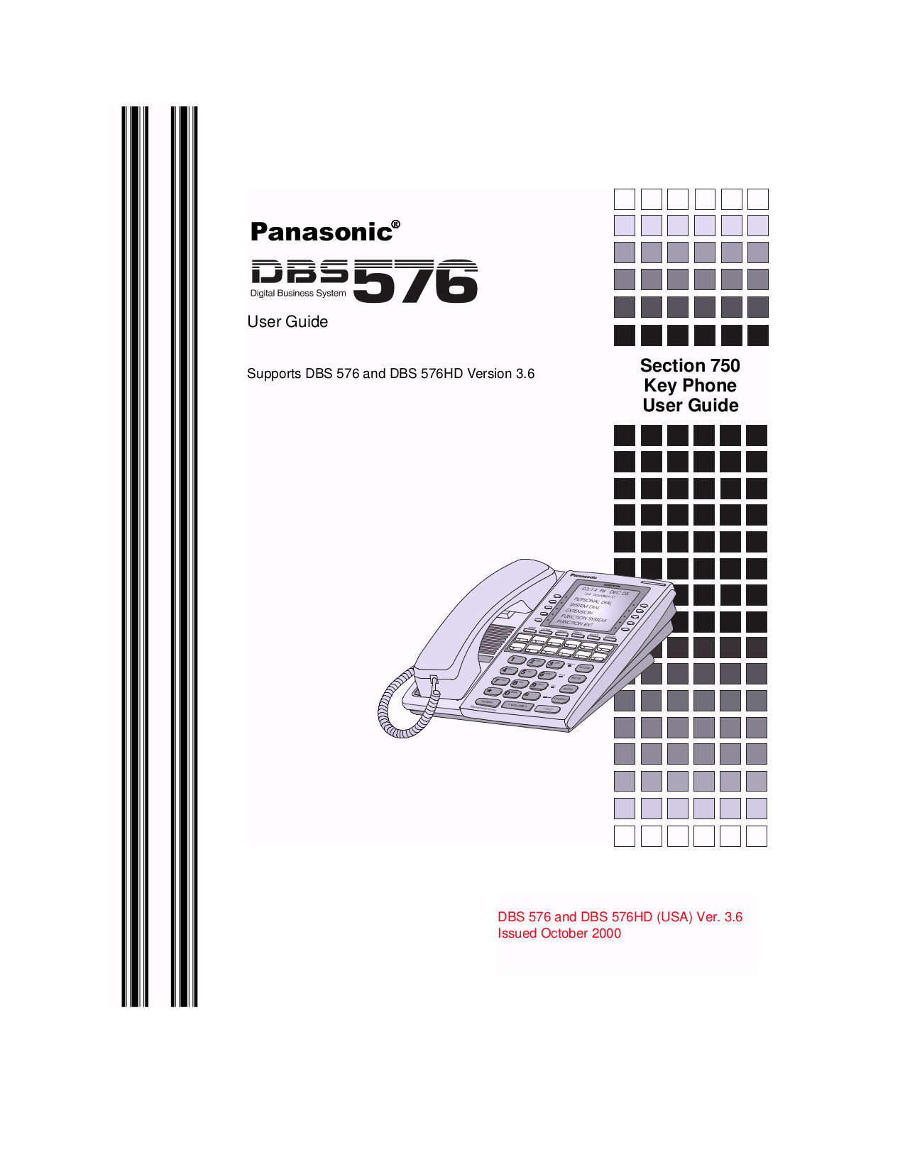 Download free pdf for Panasonic VB-44230G Telephone manual