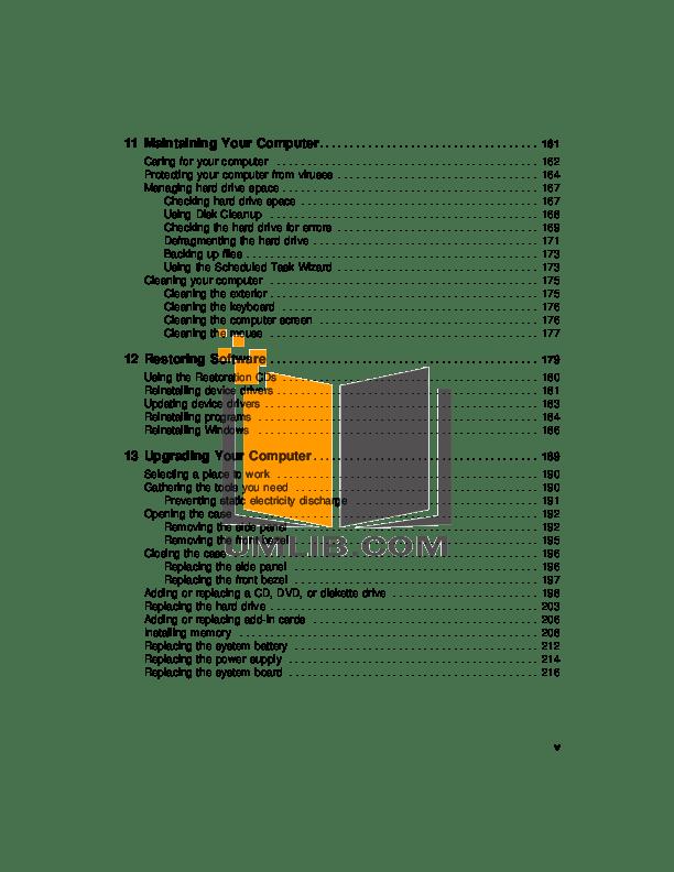 PDF manual for Gateway Laptop MT6728
