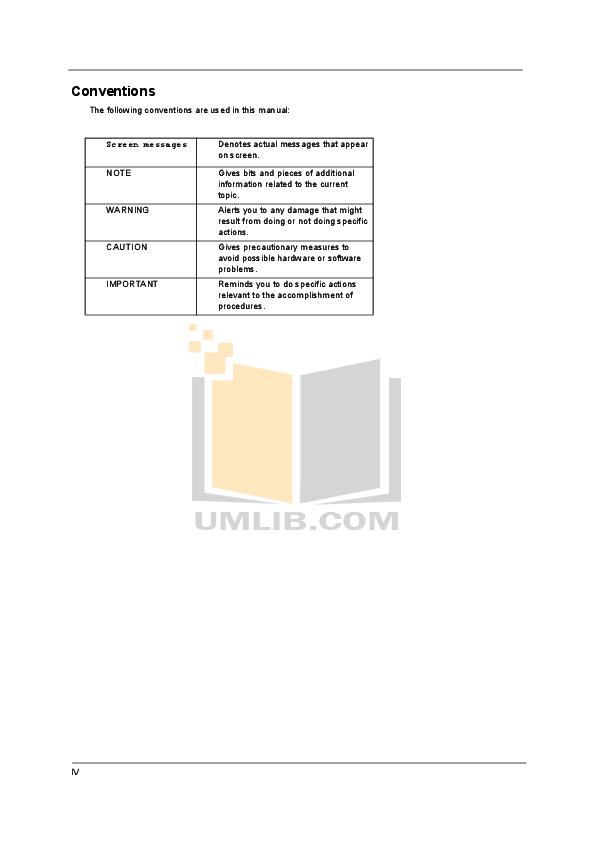 PDF manual for Acer Desktop Aspire M5800
