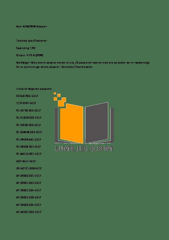 Download free pdf for Acer Aspire 5738Z-4111 Laptop manual