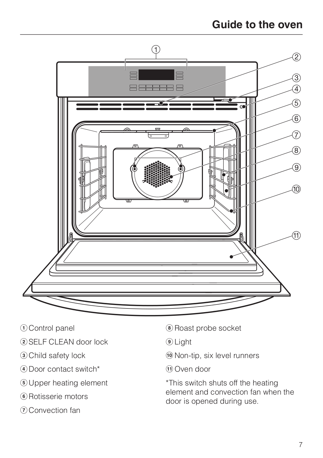 PDF manual for Miele Oven H396BP