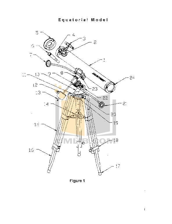 PDF manual for Celestron Telescope FirstScope 114