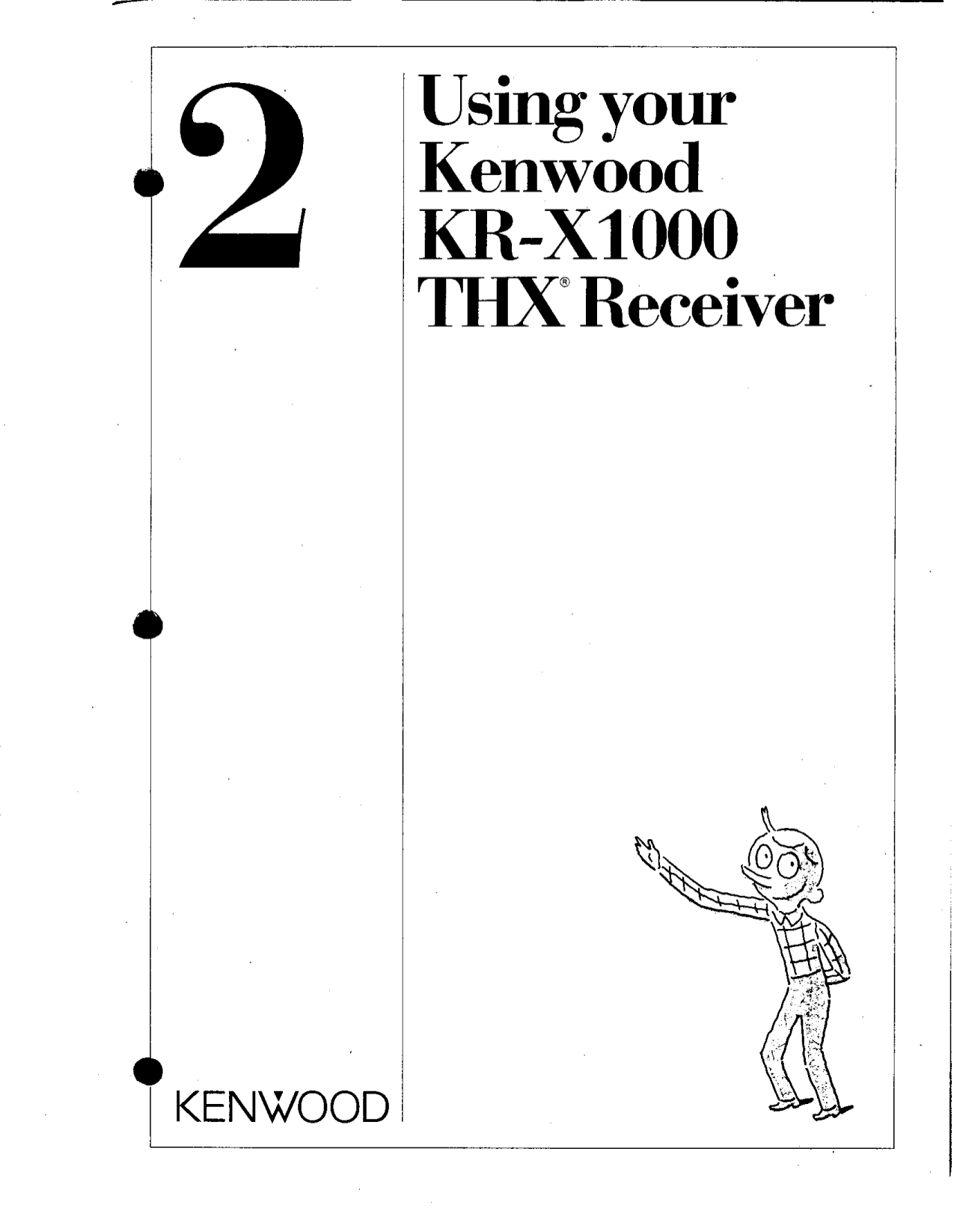 Download free pdf for Kenwood KR-X1000 Receiver manual