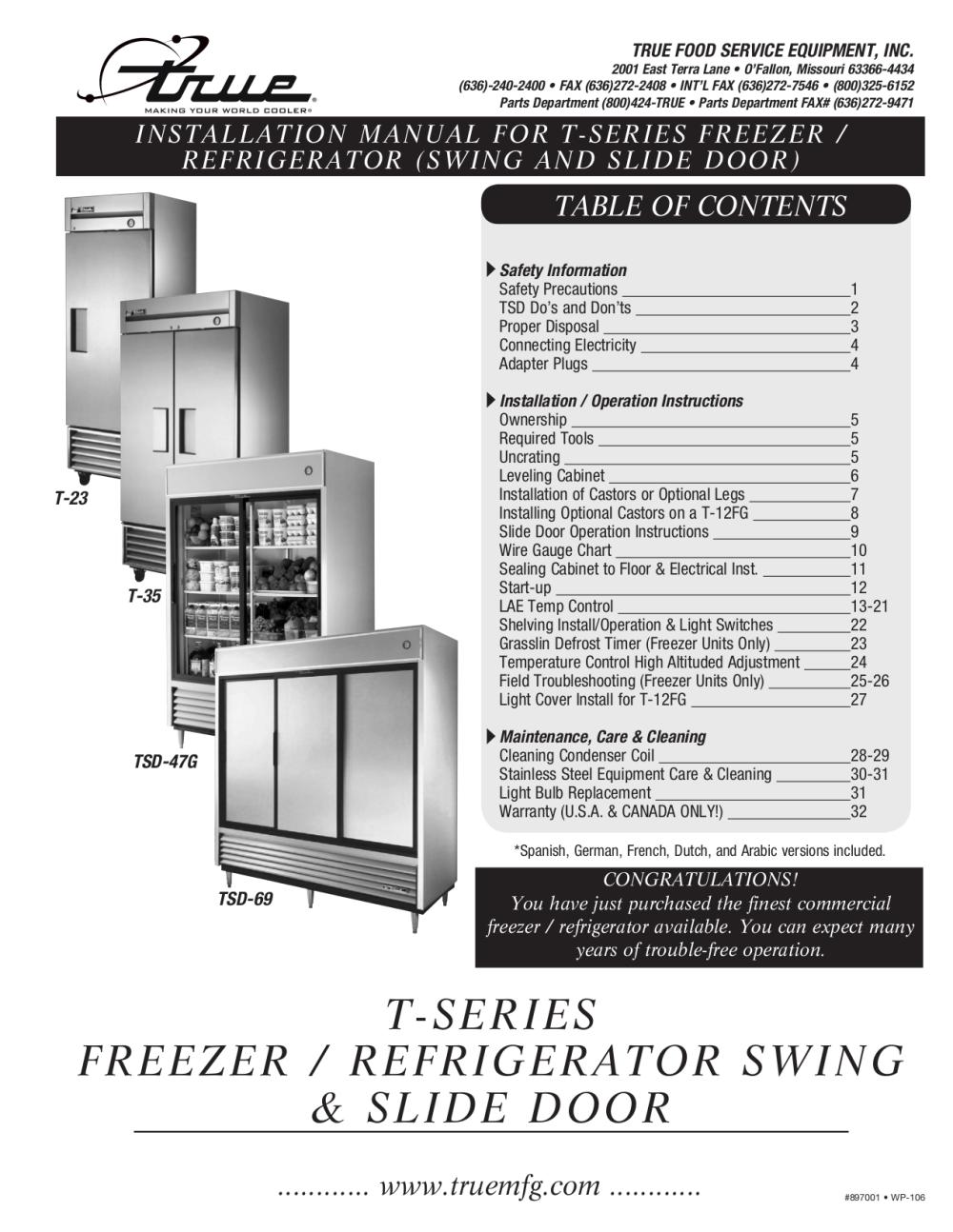 medium resolution of download free pdf for true t 72f freezer manual true freezer t 72f wiring diagram true freezer model t 49f wiring diagram