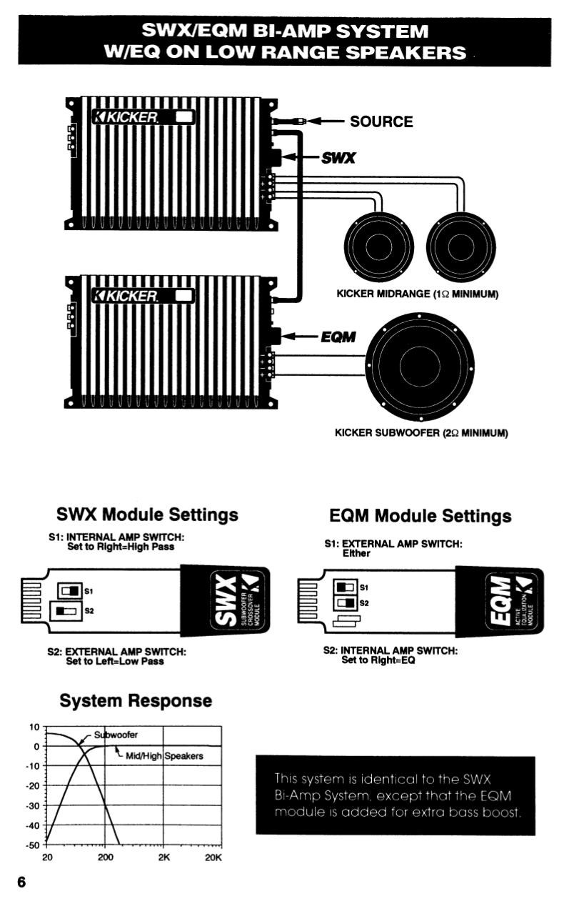 PDF manual for Kicker Car Amplifier ZR240