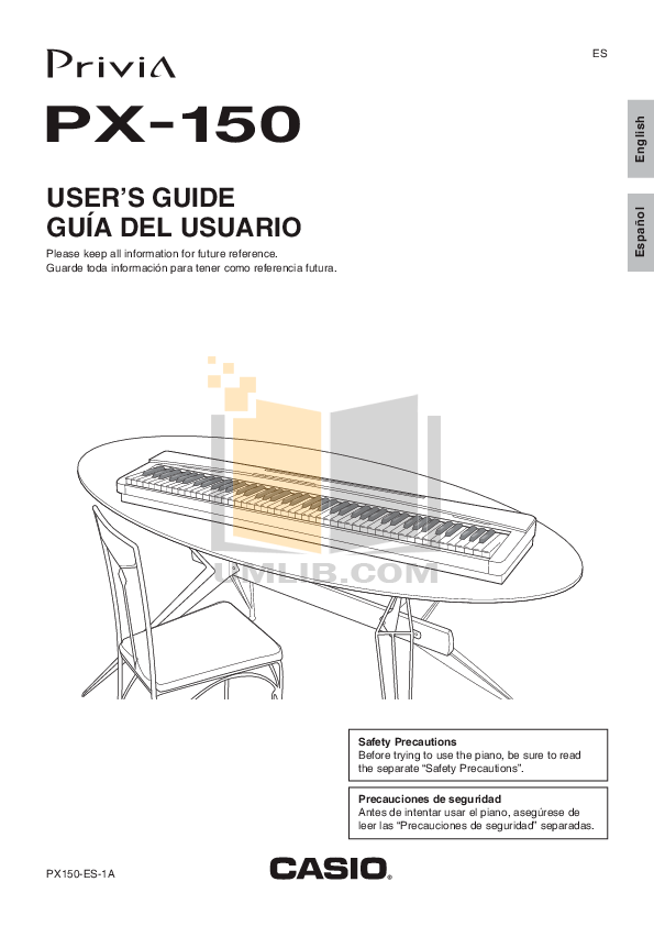 PDF manual for Casio Other SP-30 keyboard piano-pedal unit