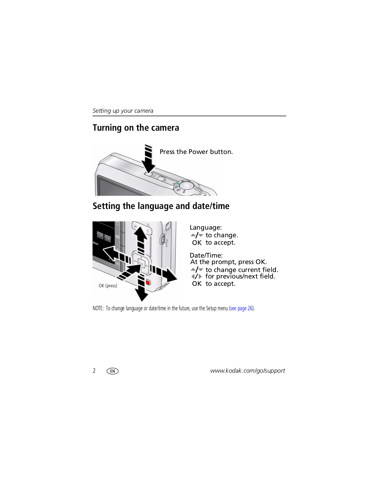 PDF manual for Kodak Digital Camera EasyShare M200