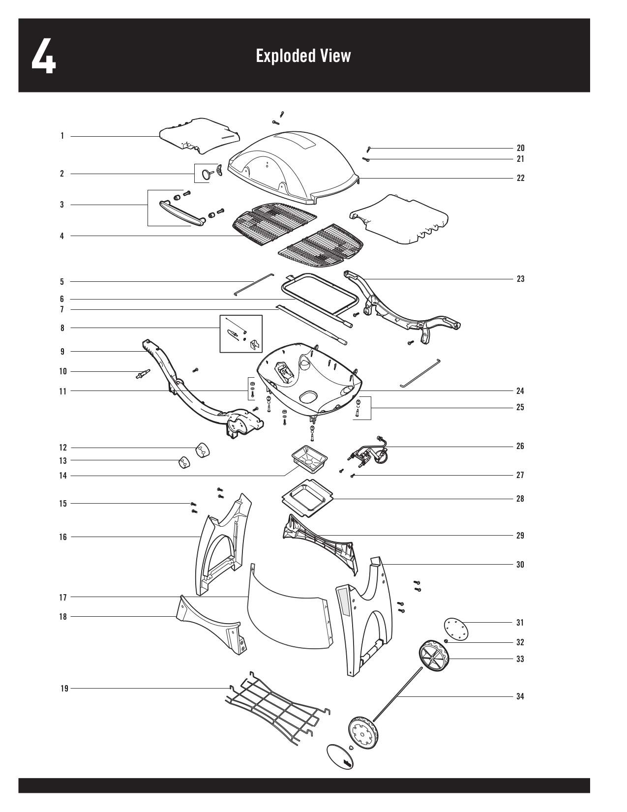 PDF manual for Weber Grill Q-300
