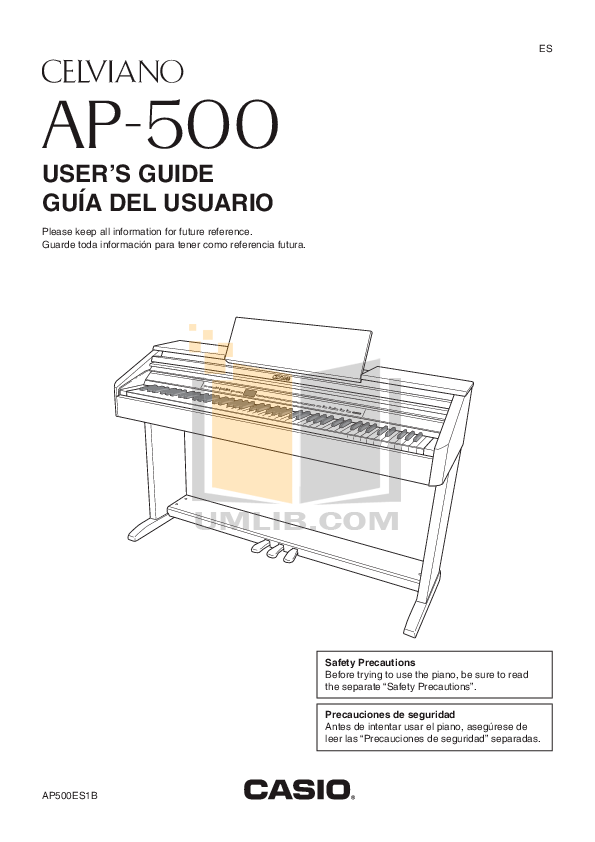 Download free pdf for Casio Celviano AP-38 Music Keyboard