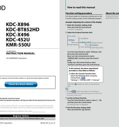 pdf for kenwood car receiver kdc 2011s manual [ 1749 x 1241 Pixel ]
