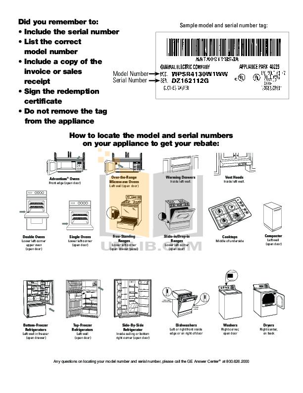 PDF manual for GE Oven Profile Advantium SCB1000M