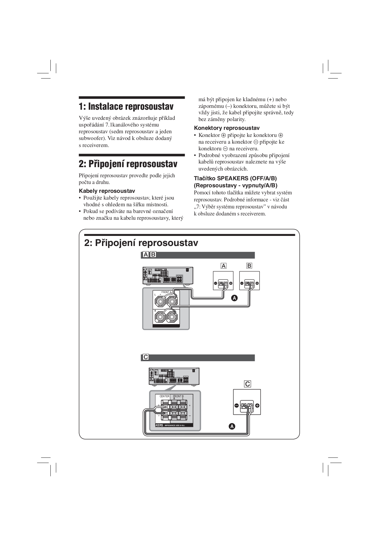 PDF manual for Sony Receiver STR-DG720
