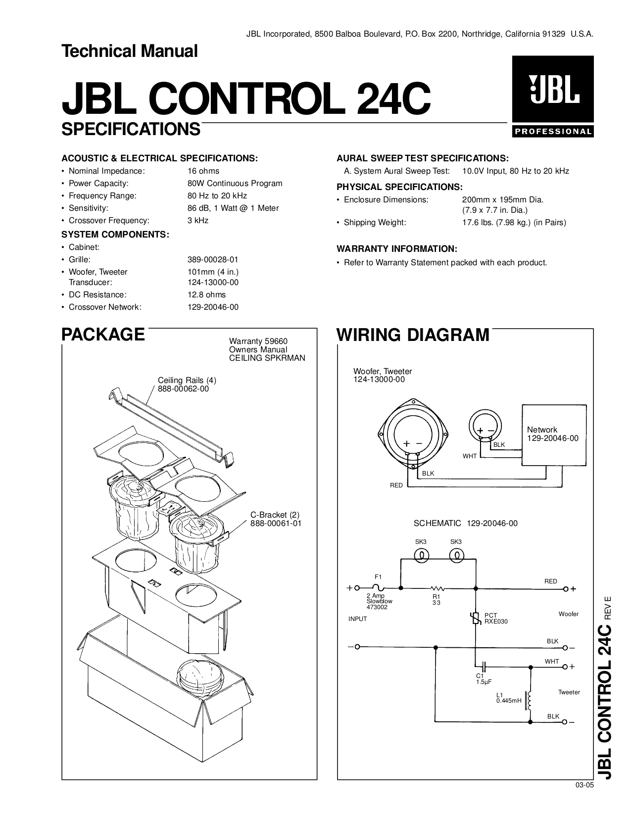 Jbl Crossover Wiring Diagram Auto Electrical Related With