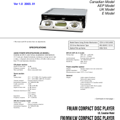 Sony Xplod Car Cd Player Wiring Diagram Cdx M610 Gt350mp Gt07
