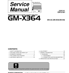 array download free pdf for pioneer gm x364 car amplifier manual rh [ 1275 x 1651 Pixel ]