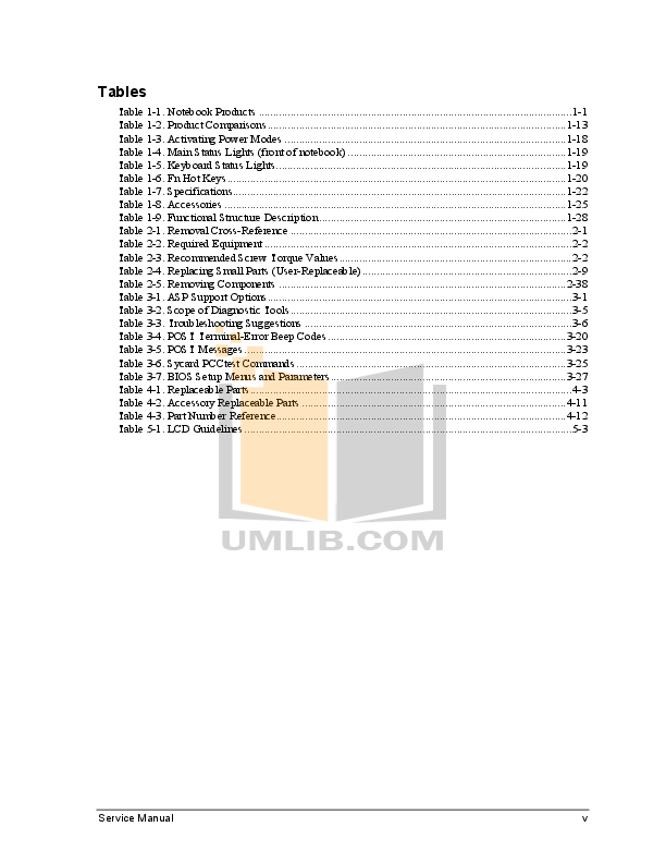 PDF manual for HP Laptop Evo N150