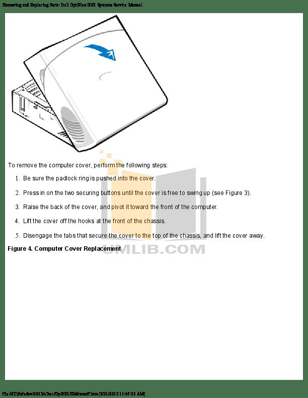 DELL OPTIPLEX GX1 MANUAL PDF