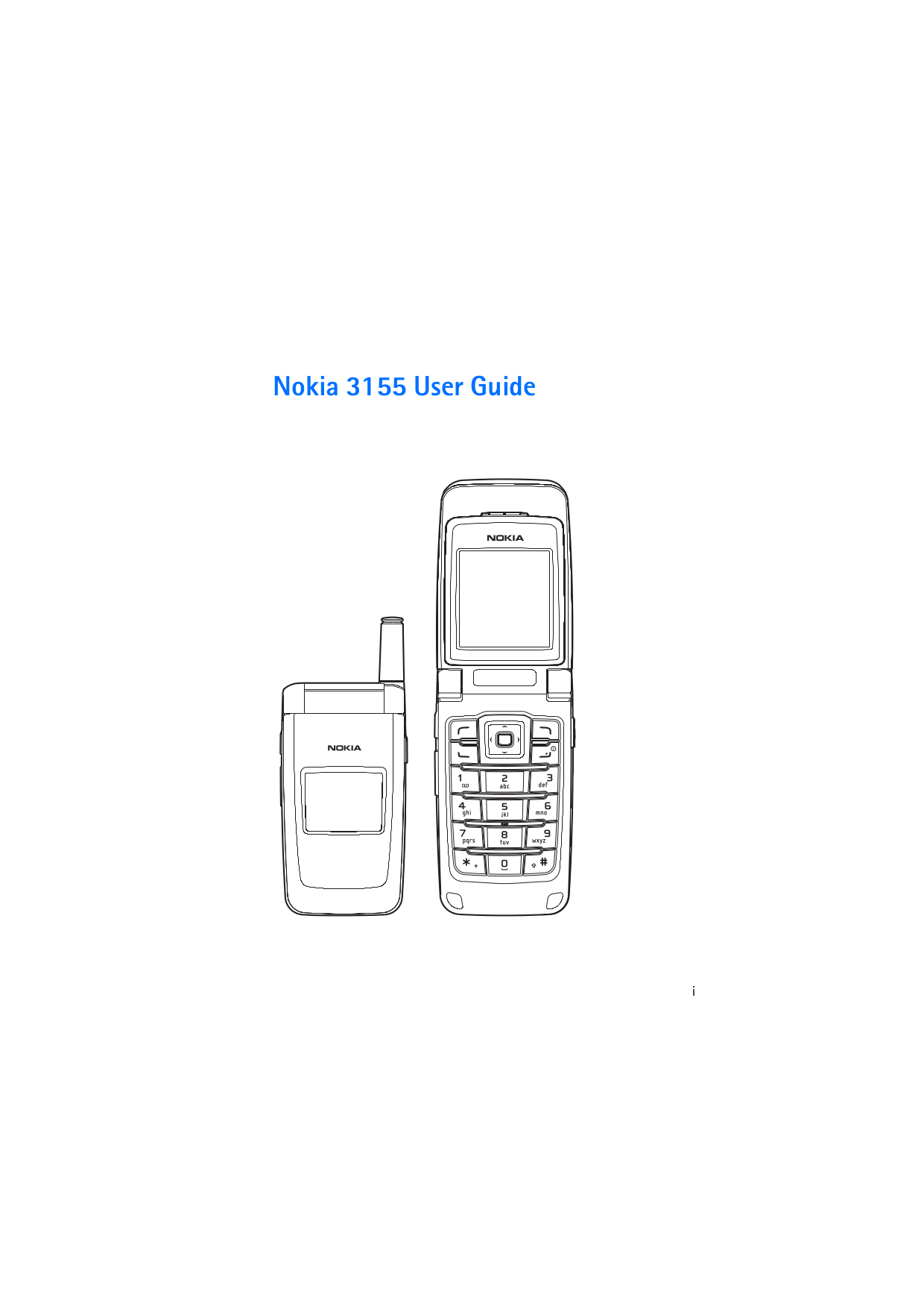 Download free pdf for Nokia 3155 Cell Phone manual