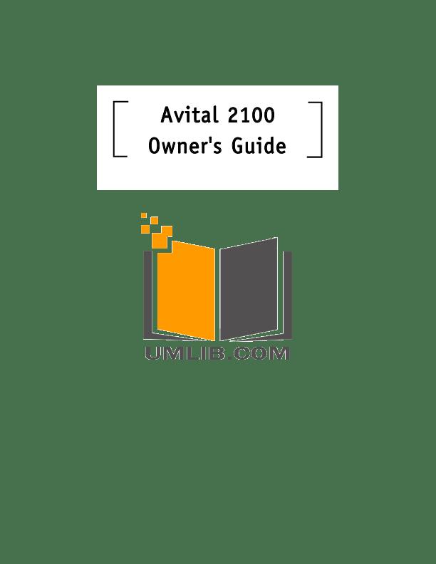Download free pdf for DEI Avital Remote Access 2 Car