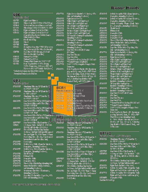 PDF manual for Broan-NuTone Heater 162