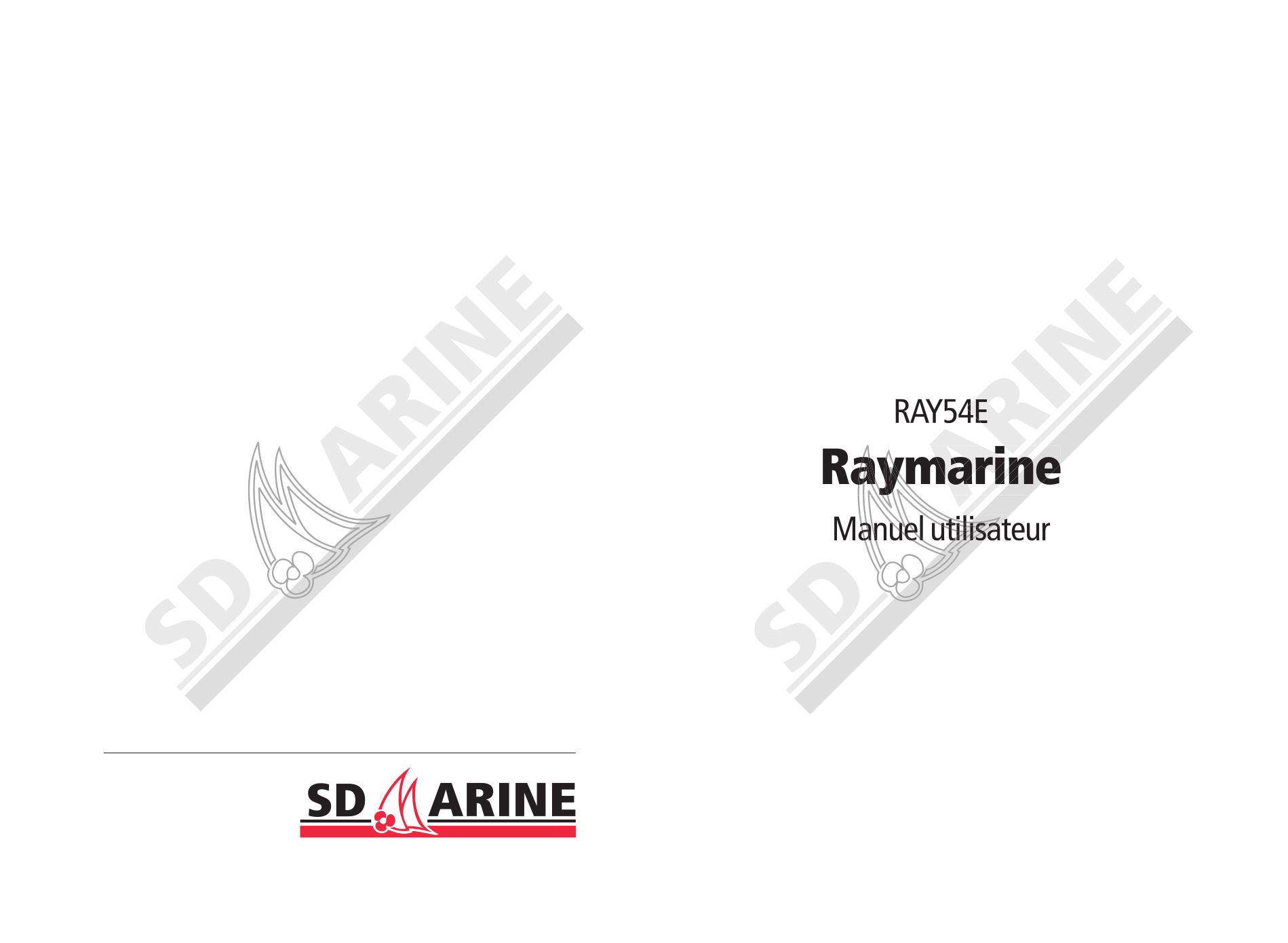 Download free pdf for Raymarine Ray54E Radio manual