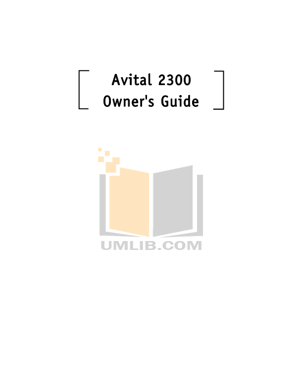Download free pdf for DEI Avital 2300 Car Alarms Other manual