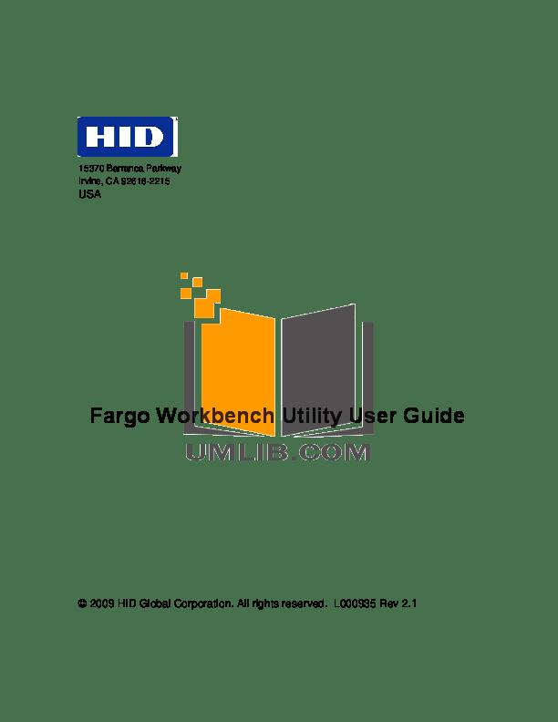 Download free pdf for Fargo DTC4500 Printer manual
