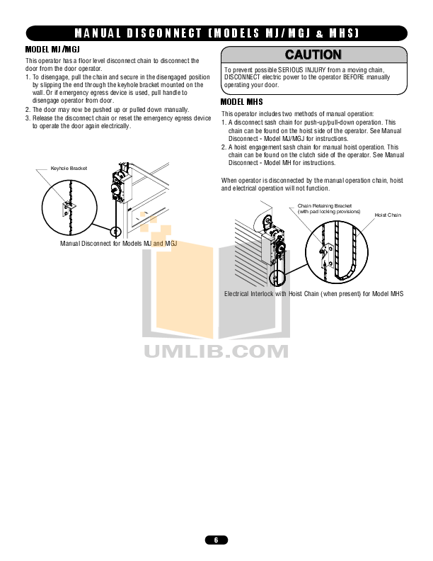 PDF manual for Chamberlain Other TriCode TC1 Transmitters