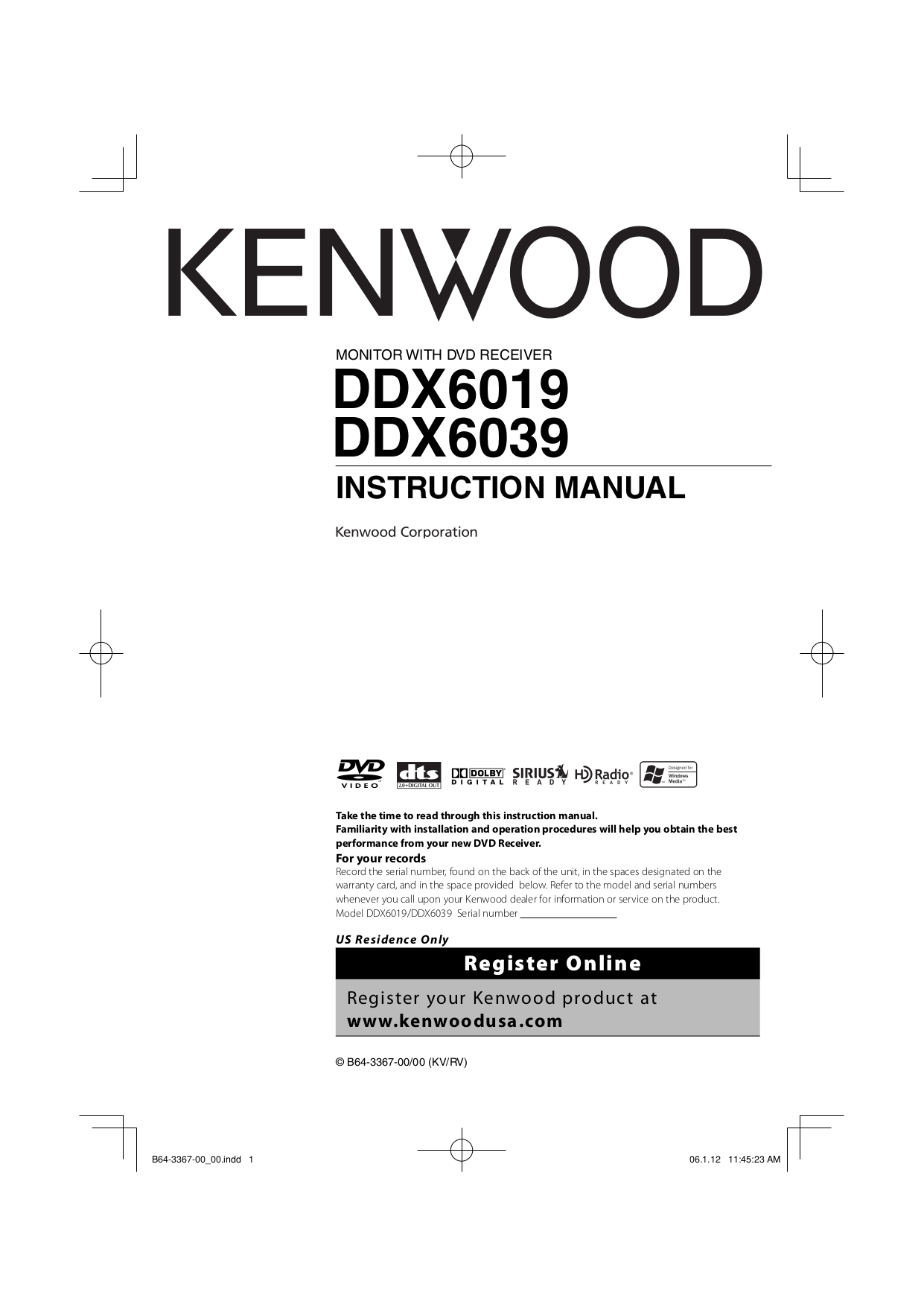 hight resolution of pdf for kenwood car receiver kdc 2025 manual