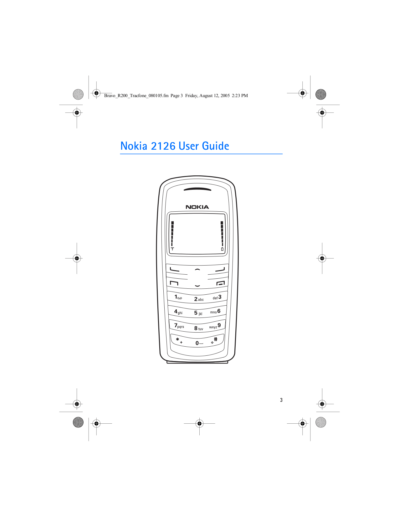 Download free pdf for Nokia 2126i Cell Phone manual