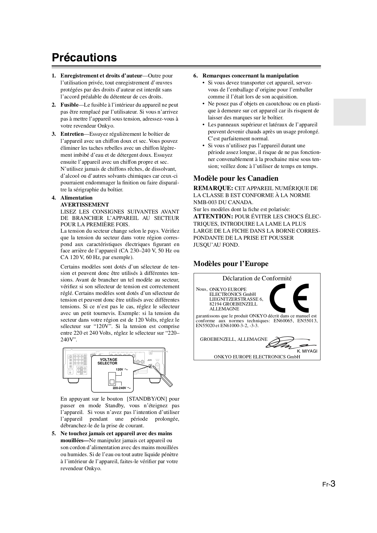 PDF manual for Onkyo Receiver TX-SV525