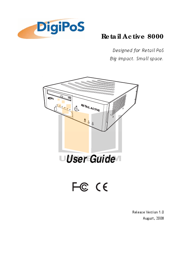 Download free pdf for DigiPos 710A Monitor manual