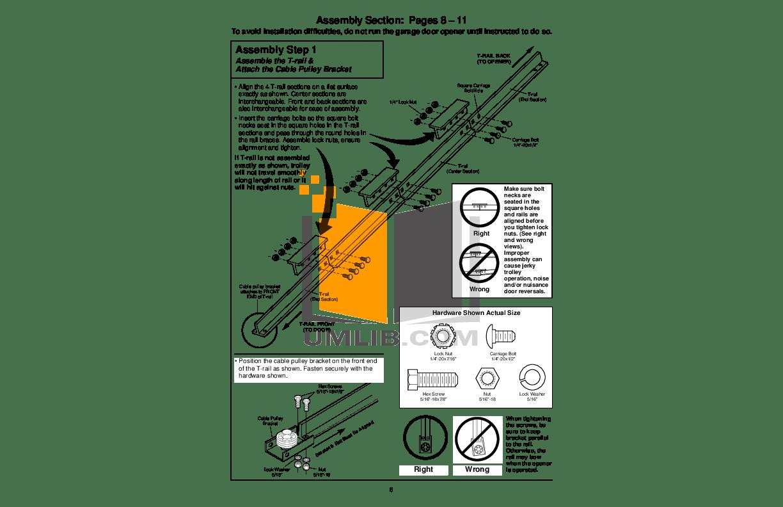 PDF manual for Chamberlain Other 5100 Garage Door Openers
