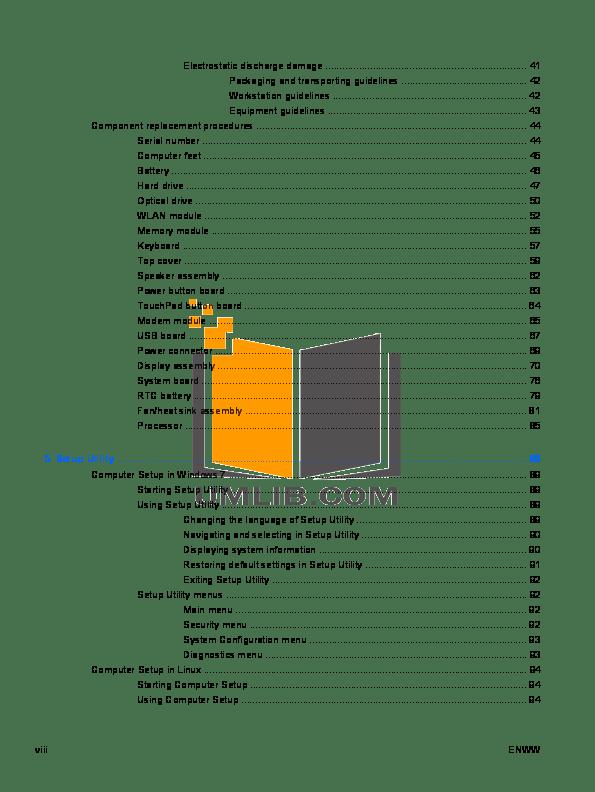 PDF manual for HP Desktop Compaq Presario,Presario SR1010
