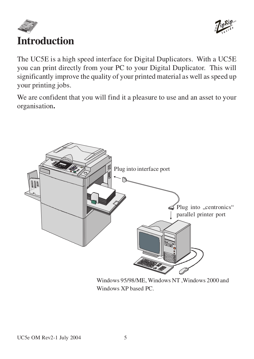 PDF manual for Ricoh Scanner JP8000