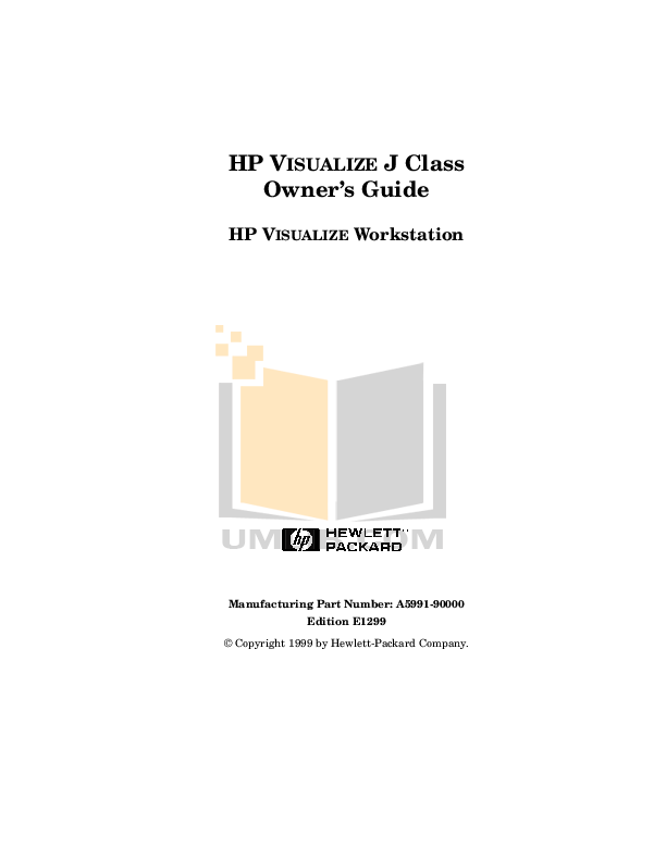 PDF manual for HP Desktop Visualize c3000