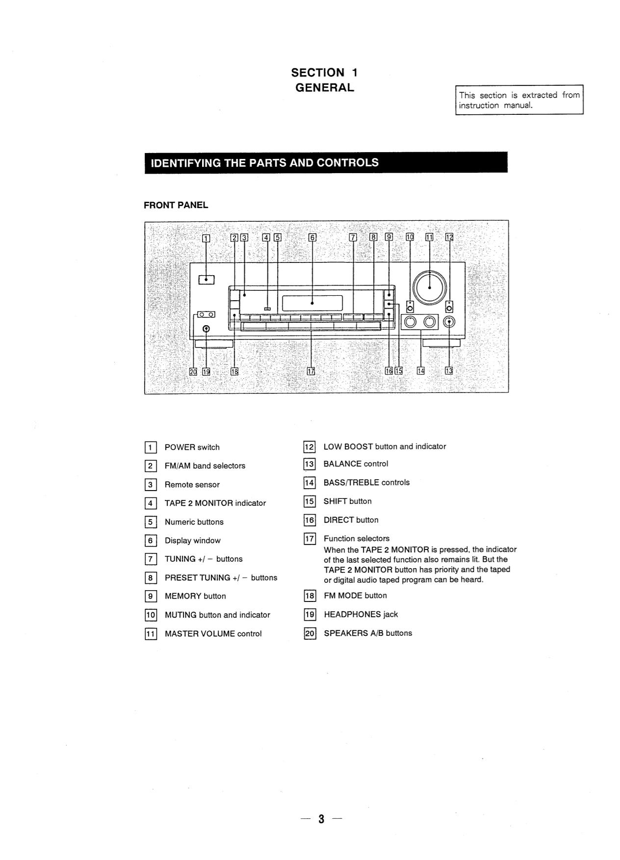 PDF manual for Sony Receiver STR-D315