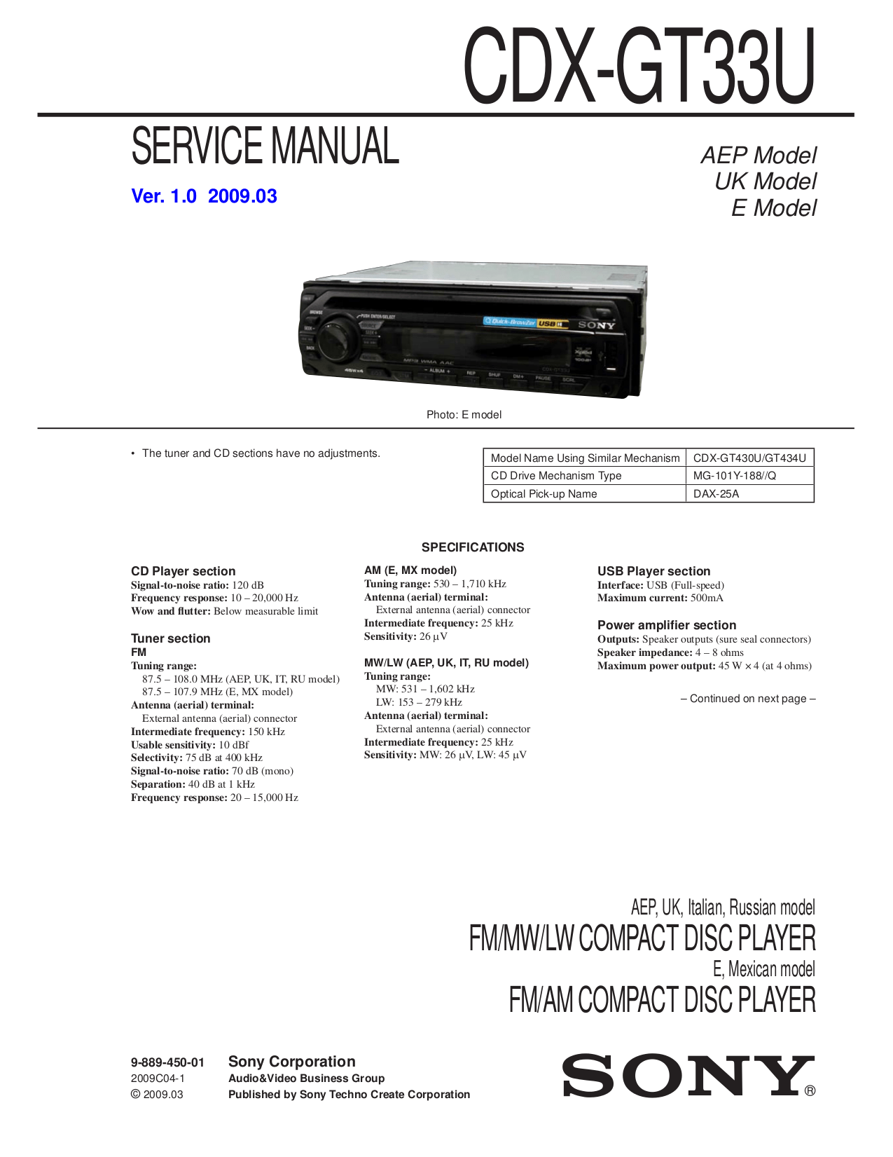 sony_cdx gt33u_ver 1.0_sm.pdf 0 sony cdx s2010 wiring diagram efcaviation com sony cdx-gt270mp wiring harness at fashall.co