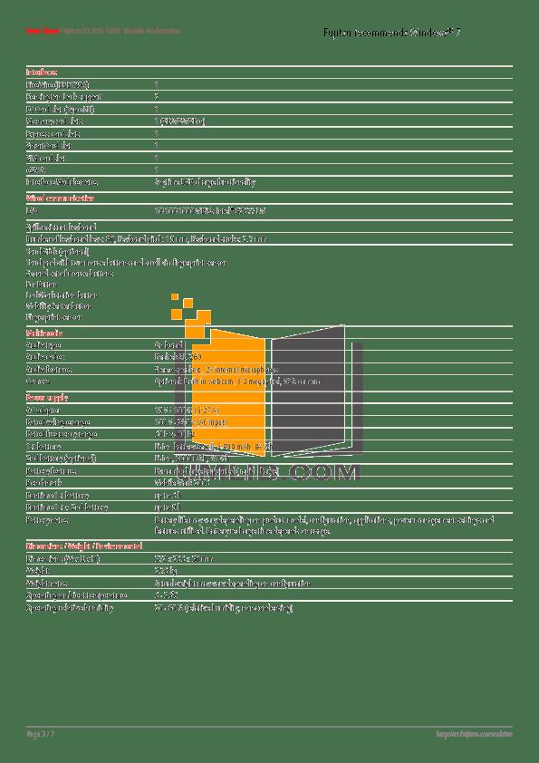 PDF manual for Fujitsu Laptop CELSIUS Mobile A