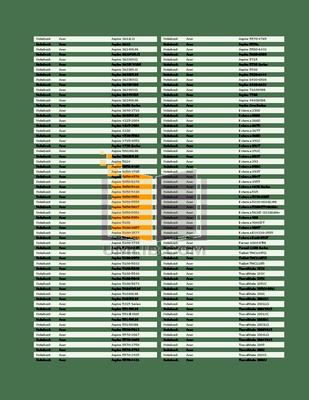 PDF manual for HP Laptop Pavilion ZE1250