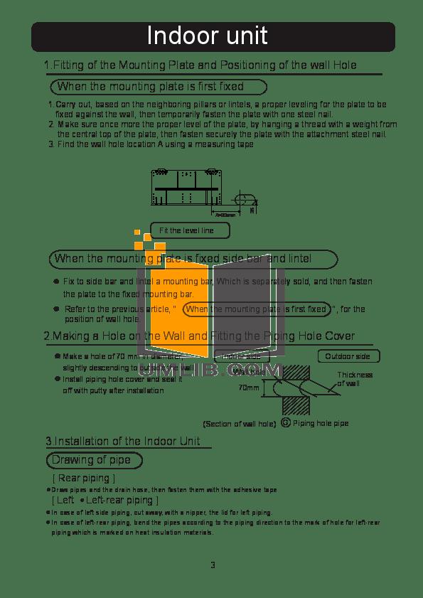 PDF manual for Haier Air Conditioner HSU-12HD03