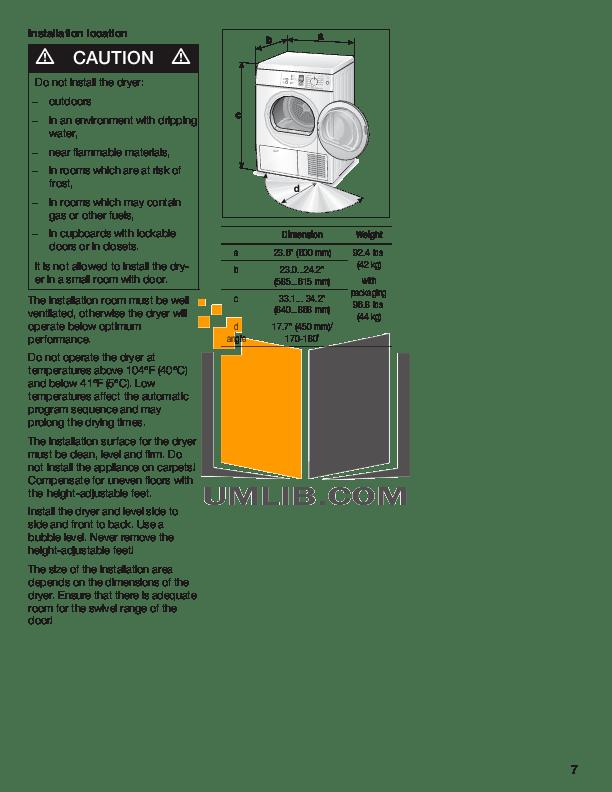BOSCH WTE86300US MANUAL PDF