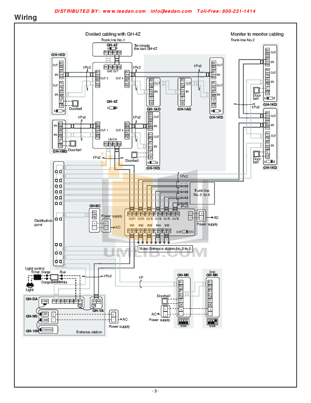 PDF manual for Aiphone Other MK-1MD Intercoms